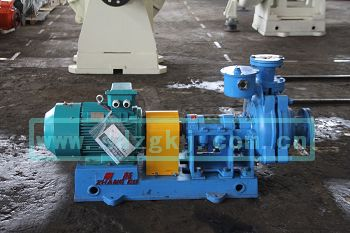 化工泵选型